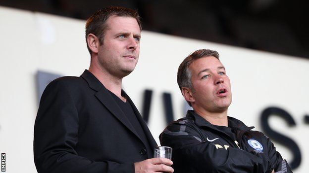 Darragh MacAnthony BBC Sport Peterborough Darren Ferguson backed by MacAnthony
