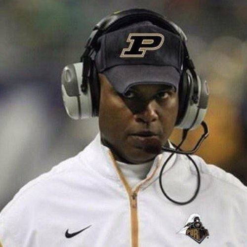 Darrell Hazell WR Danny Anthrop Purdue Boilermakers39 best conditioned