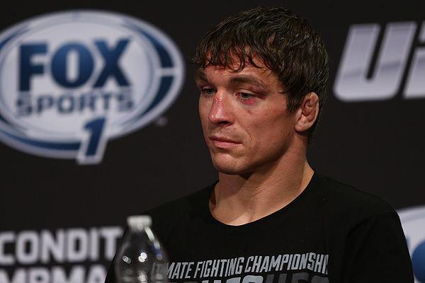 Darren Elkins Darren quotThe Damagequot Elkins MMA Stats Pictures News