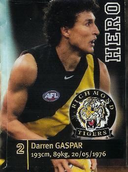 Darren Gaspar australianfootballcomuploadsdefaultimageslink
