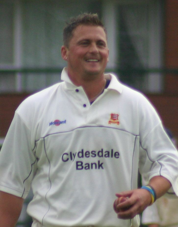 Darren Gough (Cricketer) playing cricket