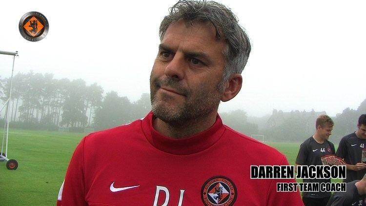 Darren Jackson Dundee United Pre Match v St Johnstone with Darren