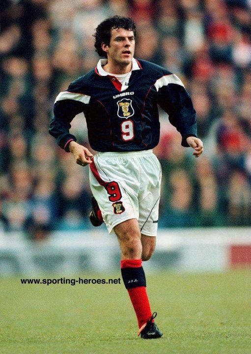 Darren Jackson Darren Jackson Scottish Caps 199598 Scotland