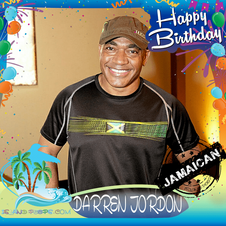 Darren Jordon Happy Birthday Darren Jordon British journalist TV Personality