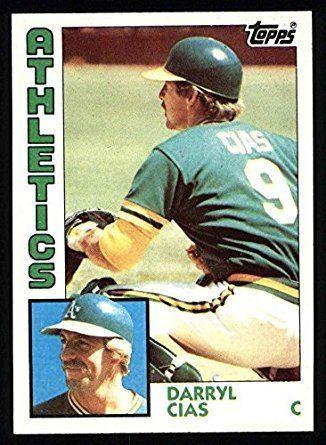 Darryl Cias Amazoncom 1984 Topps 159 Darryl Cias Oakland Athletics Baseball