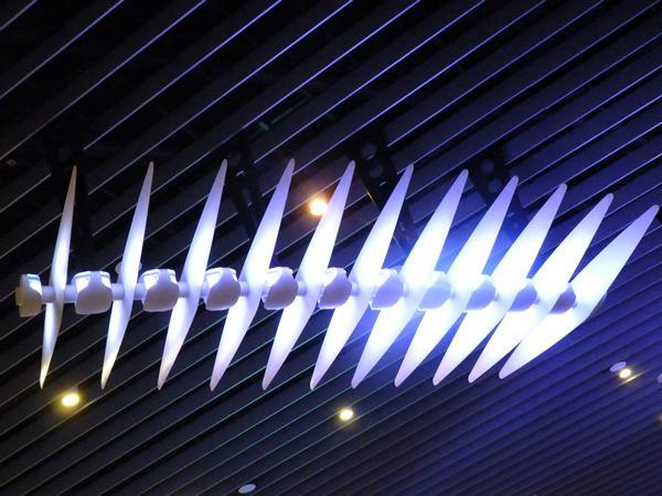 Darryl Cowie Airport Darryl Cowie Light Sculpture