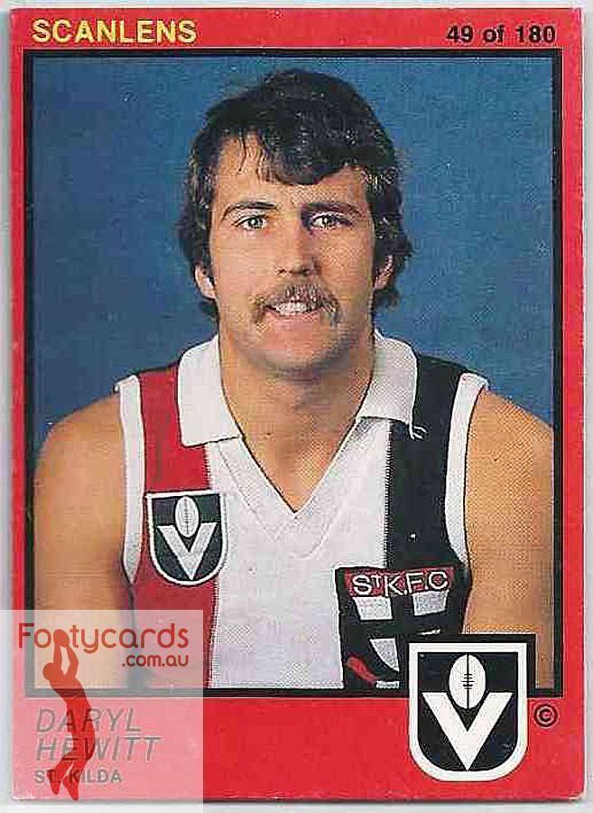 Darryl Hewitt Australian Football Darryl Hewitt Player Bio