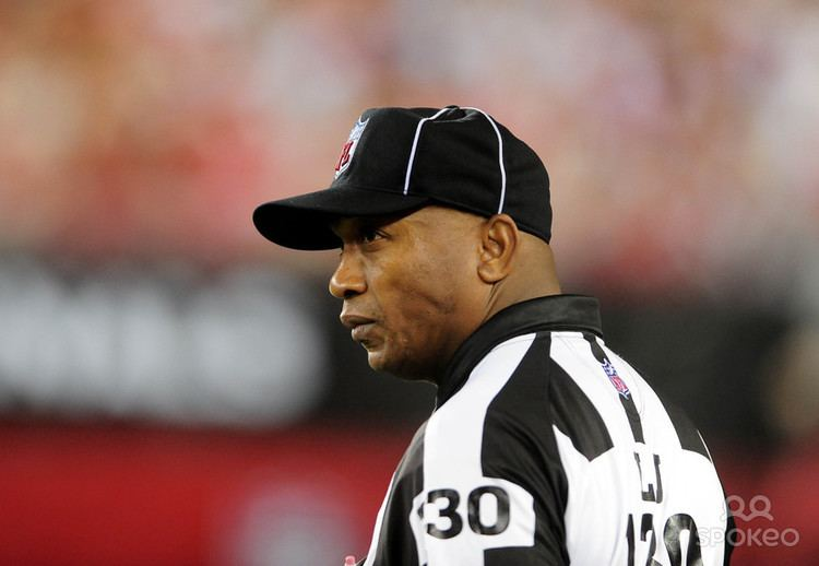 Darryll Lewis San Francisco 49ers Fall To NFL Line Judge No 130 Darryll