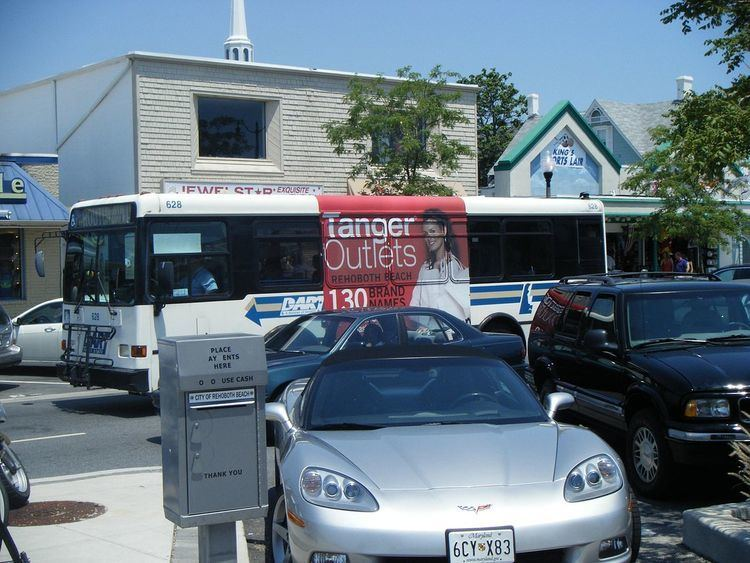 DART First State Sussex County bus routes