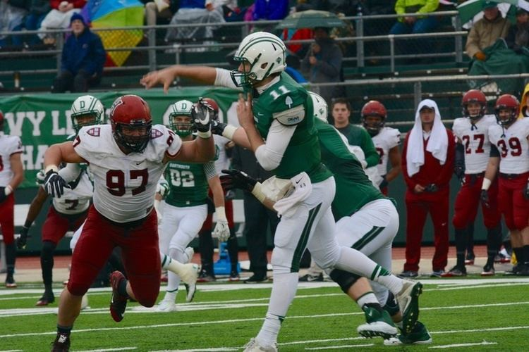 Dartmouth Big Green football Football Escapes Dartmouth 2321 to Remain First in Ivy League