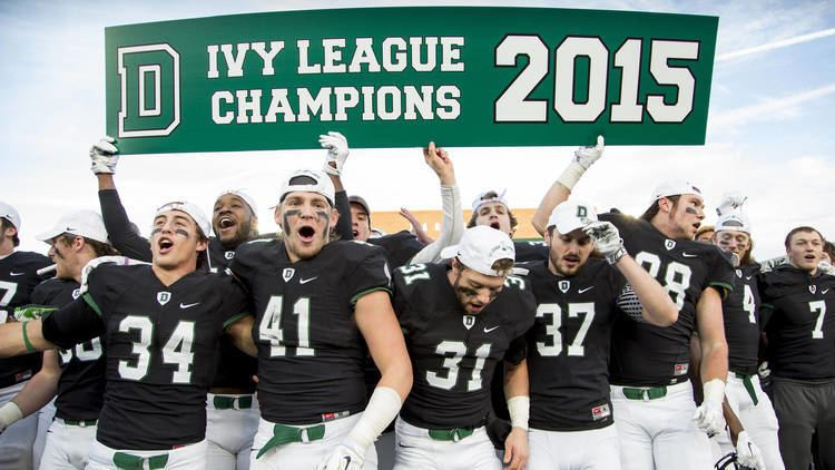 Dartmouth Big Green football IVY CHAMPS Big Green Win Finale for Share of League Title