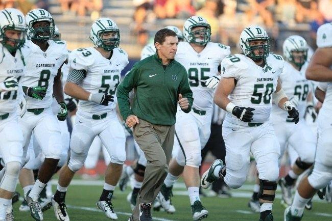 Dartmouth Big Green football Dartmouth Football Ivy Coach