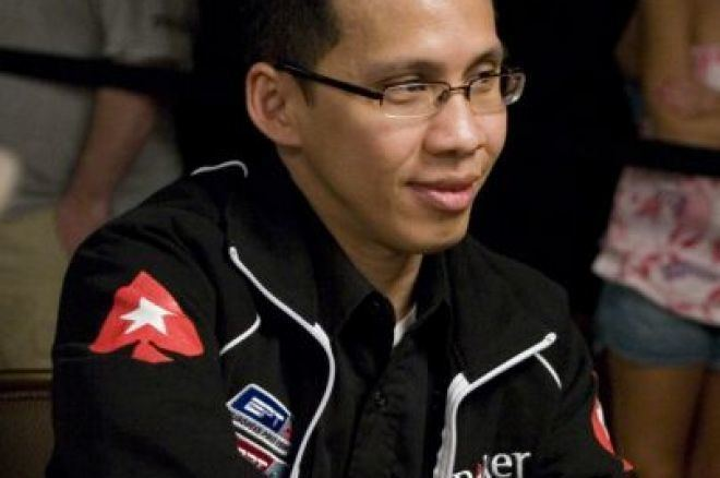 Darus Suharto 2008 WSOP November Nine Focus Darus Suharto PokerNews