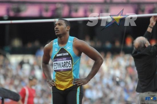 Darvin Edwards Darvin Edwards misses mark at Olympics The St Lucia STAR