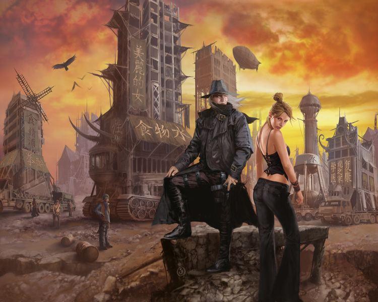 Darwin's World Burning Lands A Darwin39s World Novel