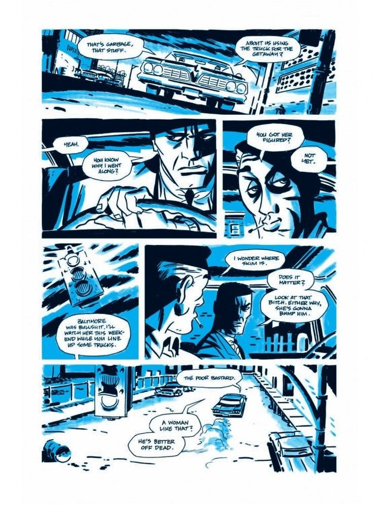 Darwyn Cooke Preview of Richard Stark39s Parker The Outfit adapted and