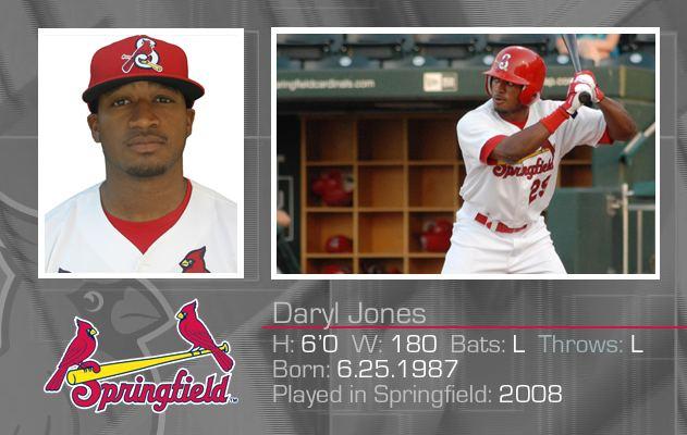 Daryl Jones (baseball) Daryl Jones Profile Springfield Cardinals Roster