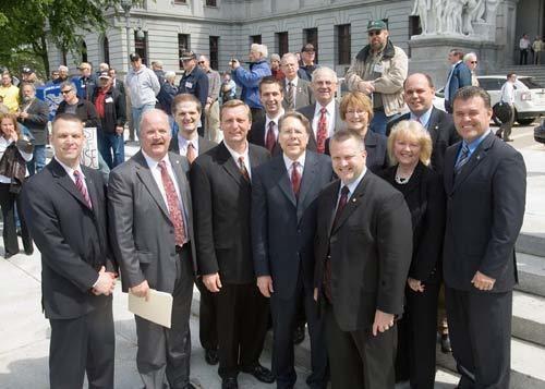 Daryl Metcalfe PA State Rep Daryl Metcalfe Right to Keep and Bear Arms Rally