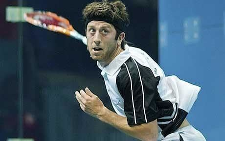 Daryl Selby Squash World Open 2011 Daryl Selby shines for England on