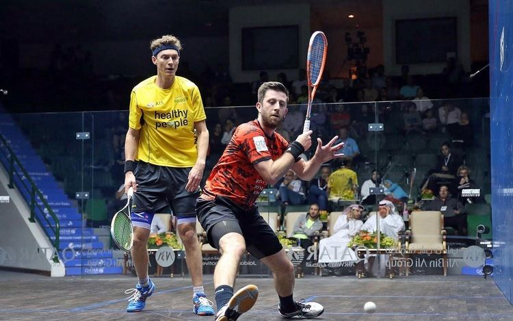 Daryl Selby Squash Mad Daryl Selby joins Nick Matthew in Qatar semifinals