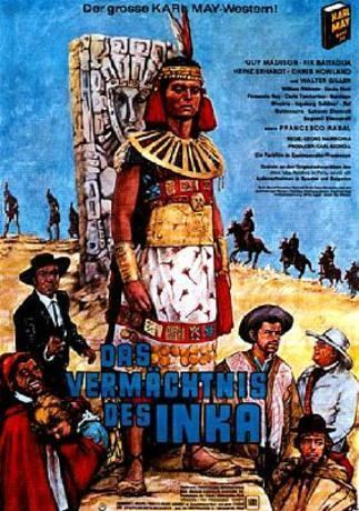 Das Vermächtnis des Inka Poster rezolutie mare Das Vermchtnis des Inka 1965 Poster 1 din
