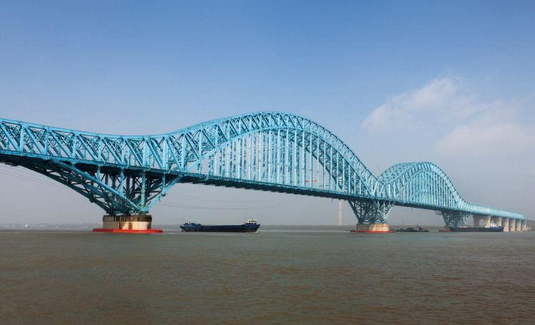 Dashengguan Yangtze River Bridge History