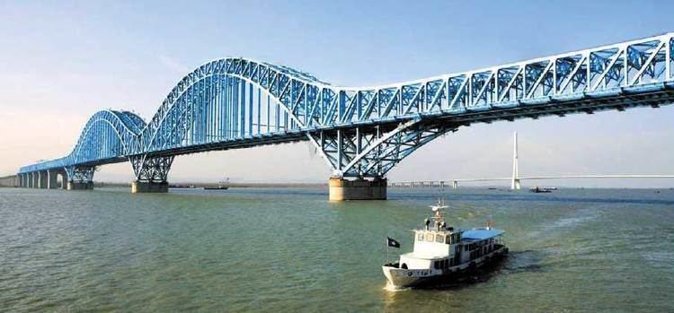 Dashengguan Yangtze River Bridge Nanjing Dashengguan Yangtze River Bridge China