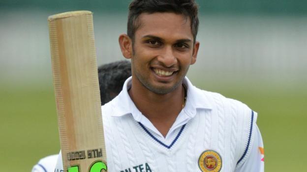 Dasun Shanaka Leicestershire v Sri Lanka Dasun Shanaka rescues tourists BBC Sport