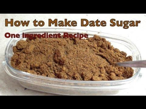 Date sugar How to make Date Sugar Thermochef recipe cheekyricho YouTube