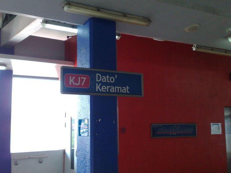 Dato' Keramat LRT station
