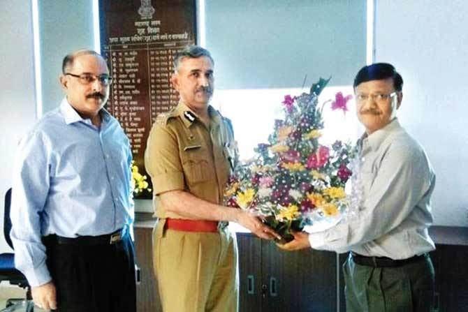 Dattatray Padsalgikar It39s good to be back says Mumbai39s new top cop Dattatray