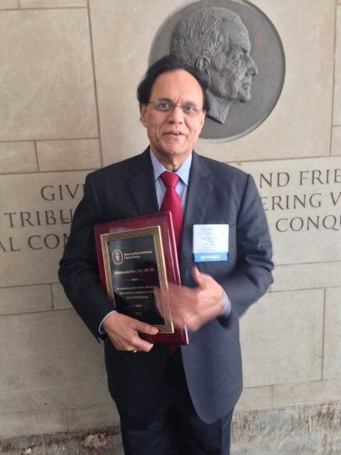 Dattatreyudu Nori Indian American oncologist Dattatreyudu Nori honored by the Memorial