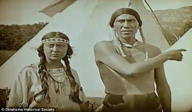 Daughter of Dawn The Daughter Of Dawn Footage restored of 1920 silent film with all