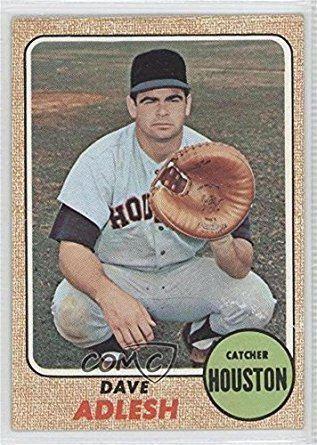 Dave Adlesh Amazoncom Dave Adlesh Baseball Card 1968 Topps Base 576