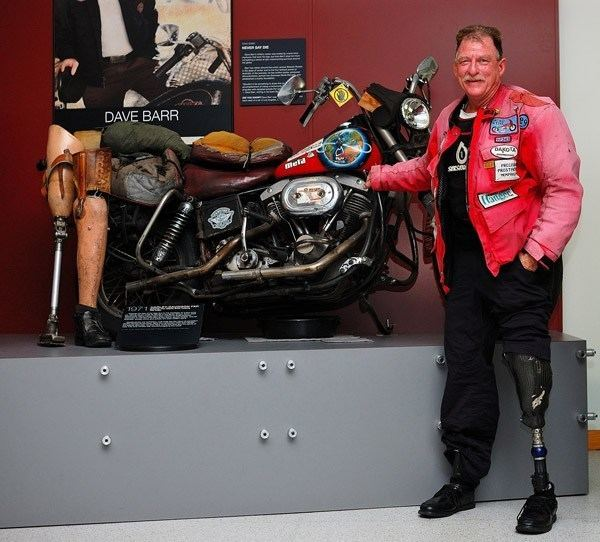 Dave Barr (motorcyclist) AMA Motorcycle Museum Hall of Fame Dave Barr