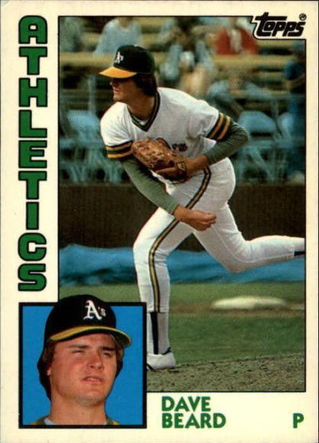 Dave Beard 1984 Topps Dave Beard 513 Baseball Card eBay