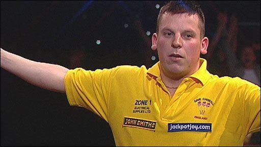 Dave Chisnall BBC Sport Darts Dave Chisnall beats Tony 39Silverback