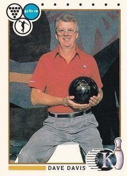 Dave Davis (bowler) Dave Davis trading card Bowling Legend 1990 Kingpins 98 at