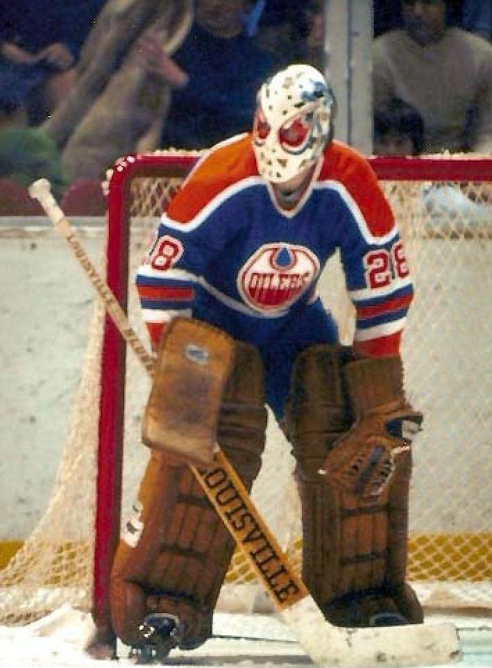 Dave Dryden Dave Dryden WHA 197576 Edmonton Oilers Frozen Ice