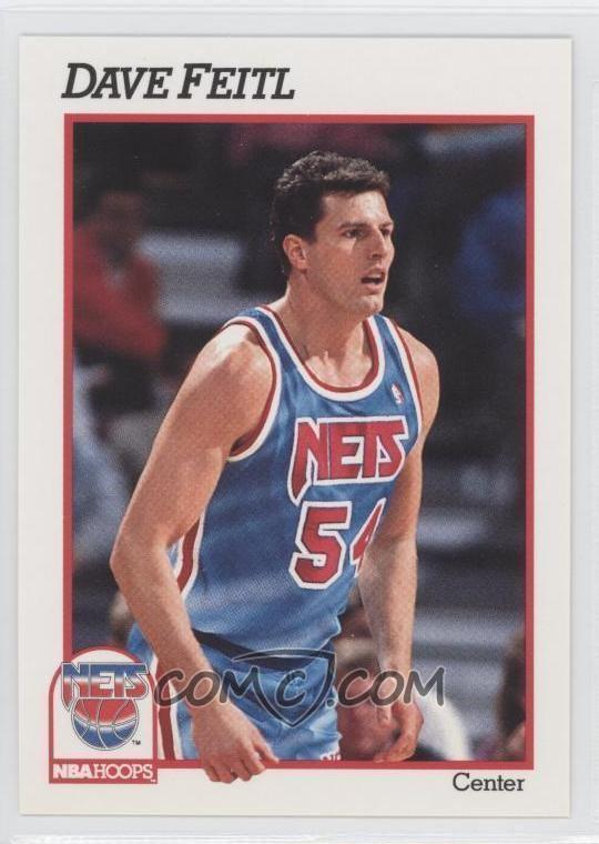 Dave Feitl 199192 NBA Hoops Base 399 Dave Feitl COMC Card Marketplace