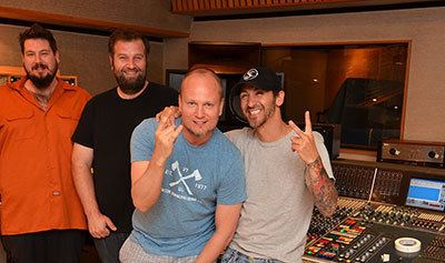 Dave Fortman Dave Fortman Mixes Godsmack quot1000HPquot at Ocean Way