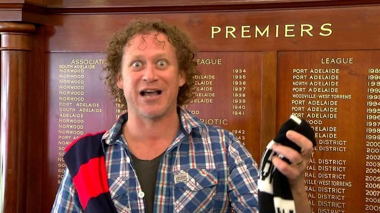 Dave Gleeson Dave Gleeson From The Screaming Jets Promotes The SANFL