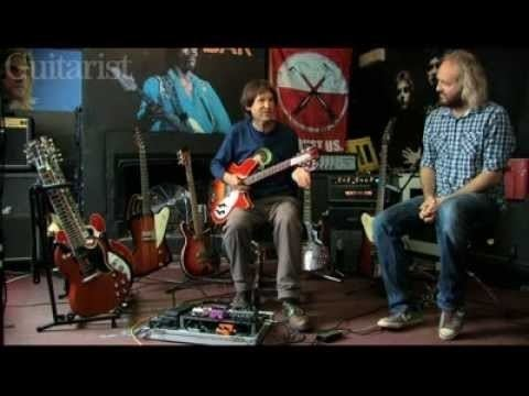 Dave Gregory (musician) The Sound of XTC Dave Gregorys vintage guitars Part One YouTube