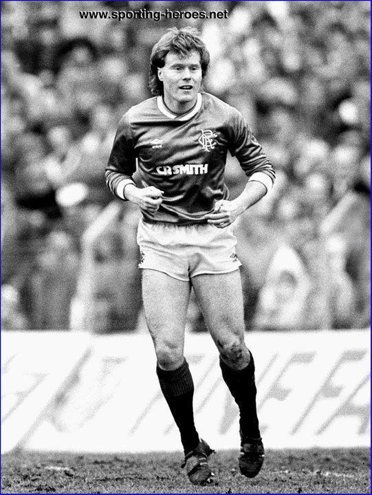 Dave MacKinnon Dave MacKINNON League appearances Rangers FC