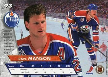 Dave Manson The Trading Card Database Dave Manson Gallery