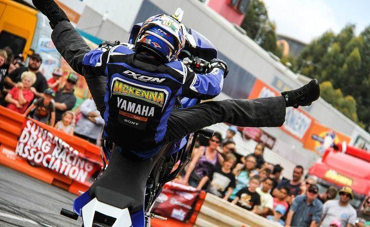 Dave McKenna (stunt rider)