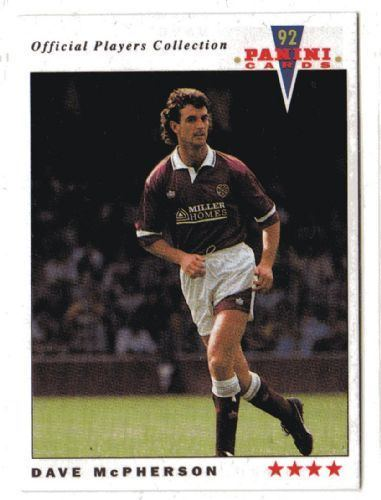 Dave McPherson (footballer) HEART OF MIDLOTHIAN Dave McPherson 352 Official Players
