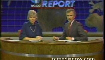 Dave Moore (newscaster) Dave Moore One Moore Time WCCO September 20 1985 TC Media Now