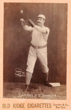 Dave Orr 1888 Old Judge Cabinets Dave Orr 3681 Baseball Card Value Price Guide