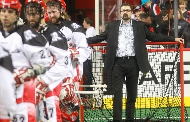 Dave Pym Calgary Roughnecks bench boss Dave Pym wore the look of a doomed